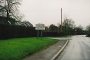 The road into Scropton