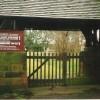 The gate to St Paul's churchyard, Scropton