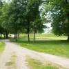 Public footpath crossing Dunham Forest Golf Course