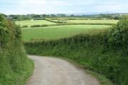 St Giles on the Heath: near East Druxton
