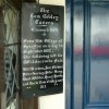 Sign at the Tom Cobley Tavern, Spreyton, Devon