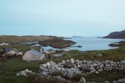 Orasaigh with view of Shiant Islands