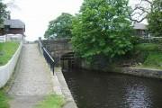 Bridge at the Western Summit, Rochdale Canal