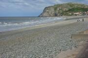 The beach, Llandudno