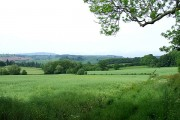 View to The Long Mynd, Shropshire