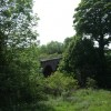 Twin arches of the old Gainford Rail Bridge