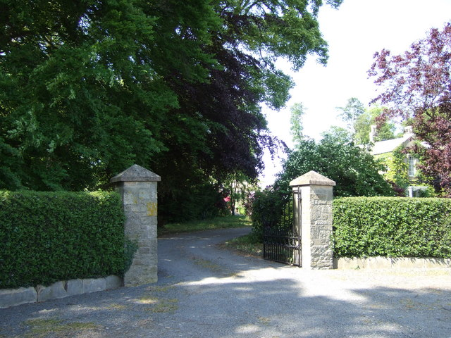 Entrance to Newsham Hall