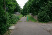 Bridge taking Witherbed Lane over Southampton to Fareham railway line
