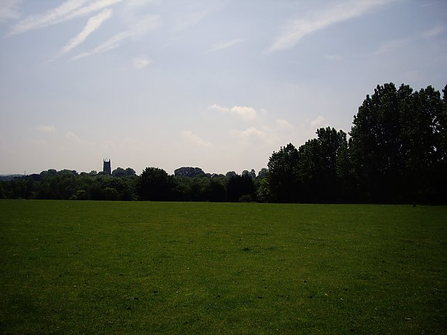 Fields Near Cockshades Farm Looking towards the church