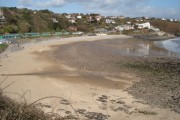 Langland Bay in the spring