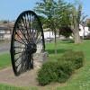 The Whitwick Colliery Winding Wheel