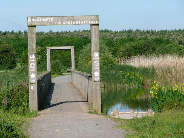 Bridge on Greenheart Lake