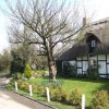 Thatched cottage on Sandy Pluck Lane