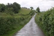 Lane to Luffincott church