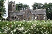 St Peter and St James church, Halwill