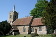 Abbess Roding church