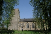 Wickham Skeith church