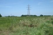 View to Beauchamps Plantation and Moles Farm