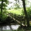 Footbridge on Nidderdale Way