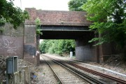 Station Road bridge, Belmont, Surrey