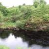 River Brora rocky riverbank