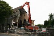 The Demolition of St Michael's Church, Albert Road