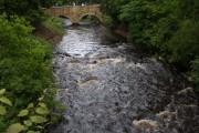 The new Bridge Nunwick Hall Gardens