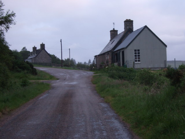 Houses in Dalreavoch