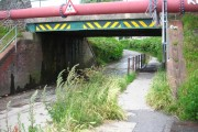 Railway Bridge over Salthouse Lane