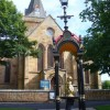 Dornoch, Cathedral and Fountain
