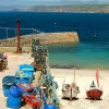 Boats at the jetty, Sennen Cove