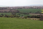 Darfield from former 'muck stack'.