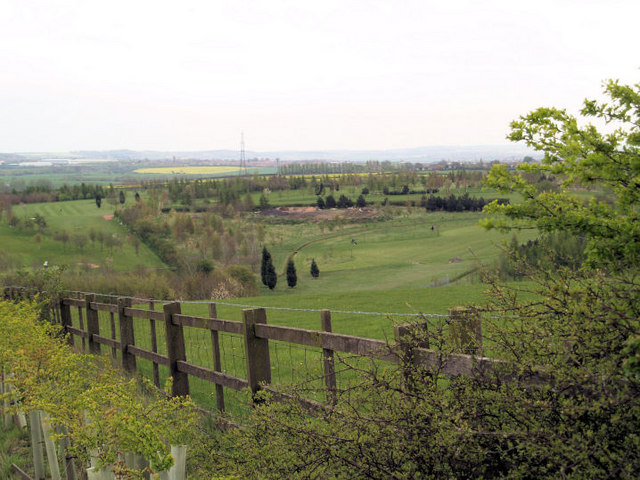 Sandhill golf course.