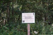 Sign for Haxey Turbary Nature Reserve