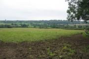 Farmland south of Stoke Trister