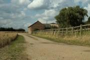 Part of Church Farm, by Chettisham church