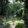 Lane leading southwest from Great Wenham Church
