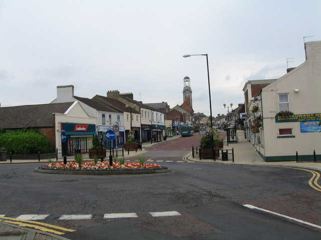 Town Centre. Spennymoor.