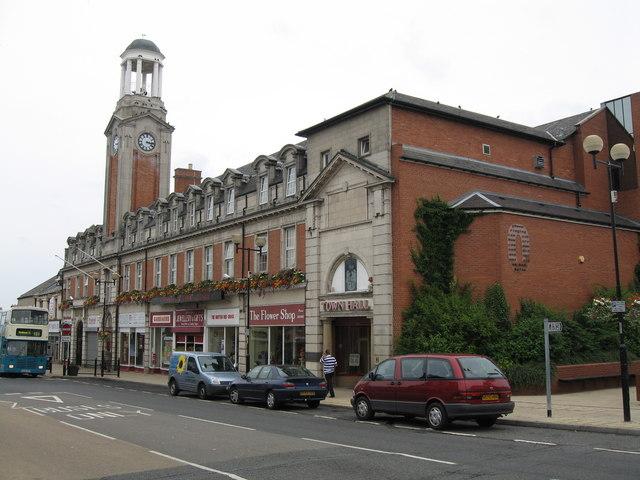 Town Hall. Spennymoor.