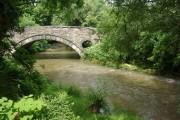 Afon Cych, Abercych