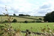 Bratton Fleming: near Ditch End Cross