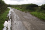 Lane near Greenway Cross