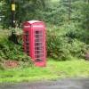 Telephone box, Aber-Cywarch