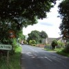 Branton - northern boundary of village