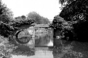 Trowers Footbridge, River Wey, Surrey