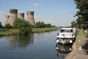 Summer Reflections - Cruisers and Cooling Towers