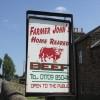 Farmer John's Road Sign