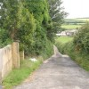 The lane to East Plaistow from Abscott farm