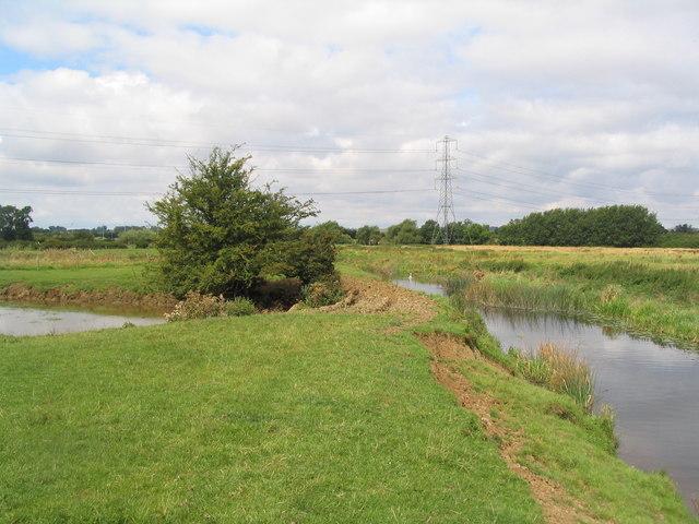 River Wreake and oxbow lake