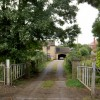 Gates to Tyers Hall cottage.